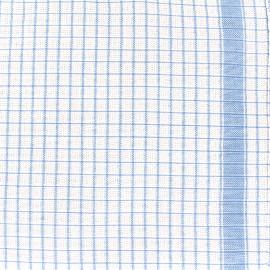 Tissu torchon Gaufrex - bleu x 82cm