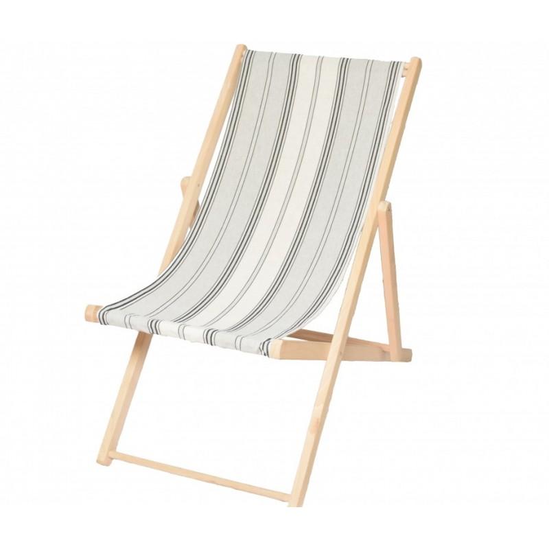 tissu toile transat m tis ray 43cm gris x 10cm ma. Black Bedroom Furniture Sets. Home Design Ideas
