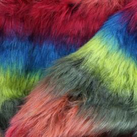 High quality fur Ancona - multi x 10cm