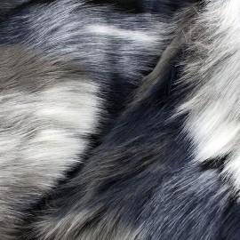 High quality fur Monza - multi x 10cm