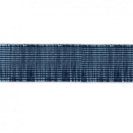 Ruban élastique Citadin 42 mm - bleu x 1m