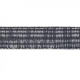 Citadin elastic ribbon 42 mm - grey x 1m