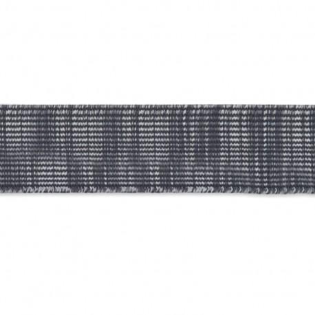 Ruban élastique Citadin 42 mm - gris x 1m
