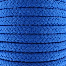 Braided cord 10mm - sapphire x 1m