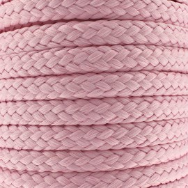 Braided cord 10mm - pink x 1m
