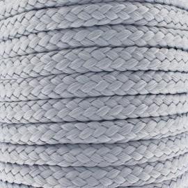 Cordon tressé 10 mm - gris x 1m