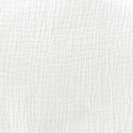 Double gauze fabric MPM - milk x 10cm
