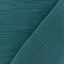 Double gauze fabric MPM - peacock x 10cm