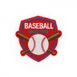 Thermocollant brodé Champions league - baseball