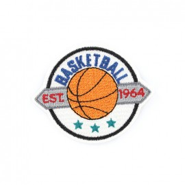 Thermocollant brodé Champions league - basketball
