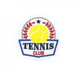 Thermocollant brodé Champions league - tennis