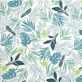 Cotton fabric Daily Like - In the Tropics Leaf  x 10cm