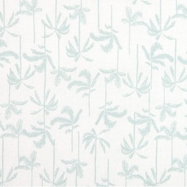 Tissu coton Daily Like - In the Tropics Palm Tree x 10cm
