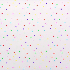 Rico Design jersey fabric Confetti - multicolor x 10cm