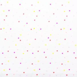 Tissu coton Rico Design Confetti - pastel x 10cm