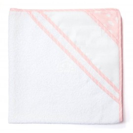 Joli nuage bathwrap to embroider - pink