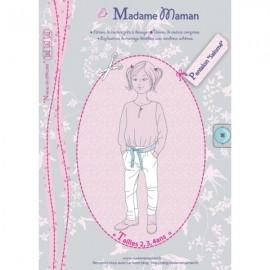 Patron Madame Maman Pantalon - Salomé