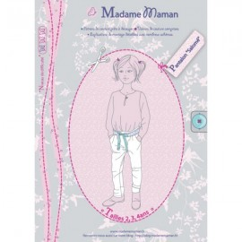 Trousers sewing Pattern - Madame Maman Salomé