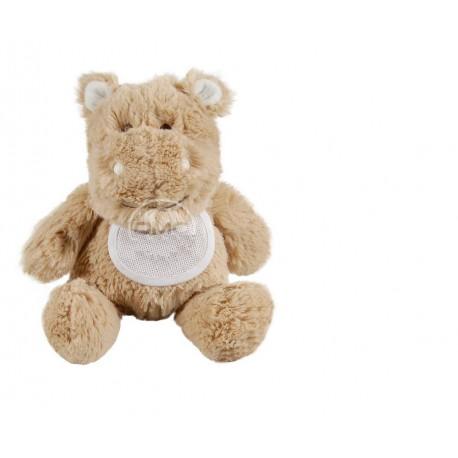 Cuddly toy to embroider - hippopotamus