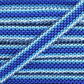 Galon tissé Solal - bleu x 1m