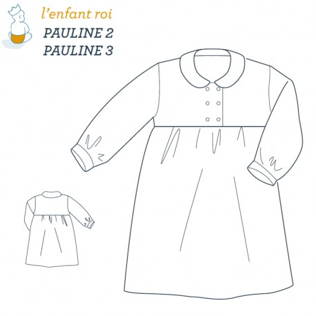 pauline night gown l 39 enfant roi sewing pattern. Black Bedroom Furniture Sets. Home Design Ideas