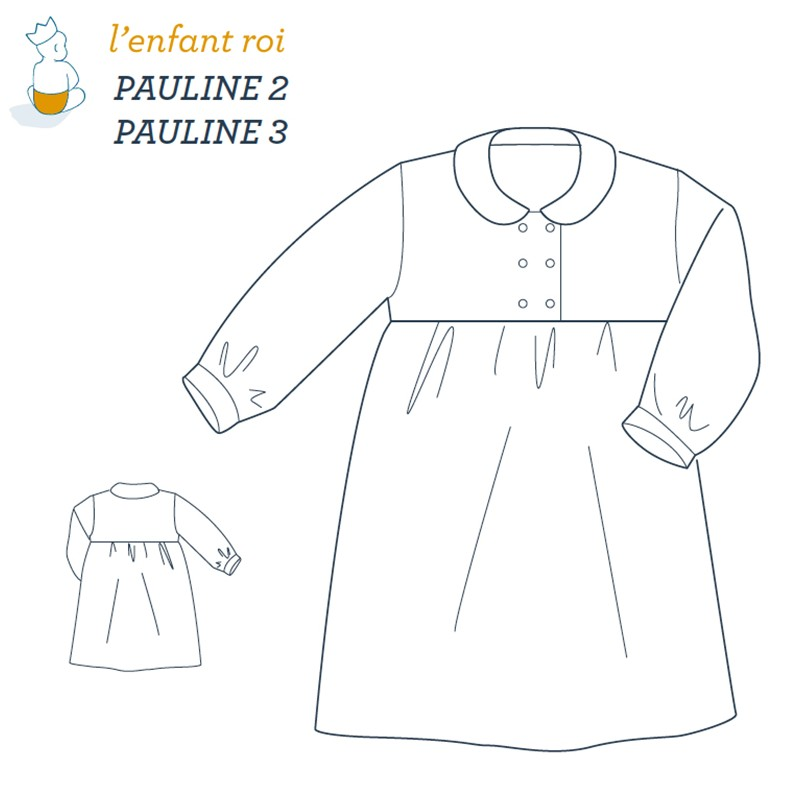 Pauline night gown L\'Enfant Roi sewing pattern