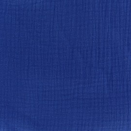 Double gauze fabric MPM - admiral blue x 10cm
