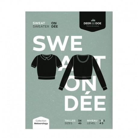 Sewing pattern Deer and Doe - Sweatshirt