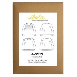Patron Ikatee Jasmin Sweat confort - de 3 à 12 ans