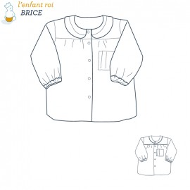 Brice Blouse L'Enfant Roi sewing pattern - From 2 to 8 years old