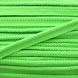 Passepoil tressé Vivo - vert fluo x 1m
