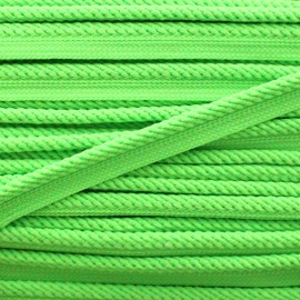 Vivo braided piping - neon green x 1m
