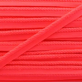 Vivo braided piping - neon pink x 1m