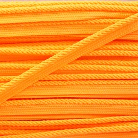 Vivo braided piping - neon orange x 1m