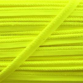 Passepoil tressé Vivo - jaune fluo x 1m