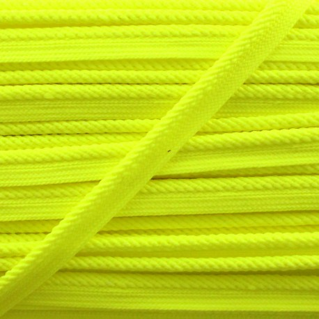 Vivo braided piping - neon yellow x 1m