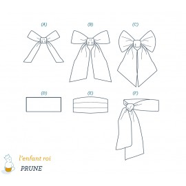 Prune Belt L'Enfant Roi sewing pattern