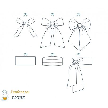 Prune Belt L'Enfant Roi sewing pattern