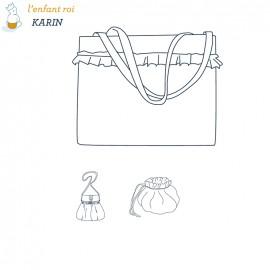 Karin bags L'Enfant Roi sewing pattern