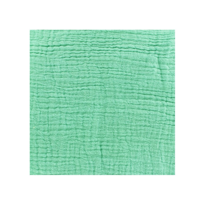 tissu oeko tex double gaze de coton mint oeko tex camillette cr ation x 10cm ma petite mercerie. Black Bedroom Furniture Sets. Home Design Ideas
