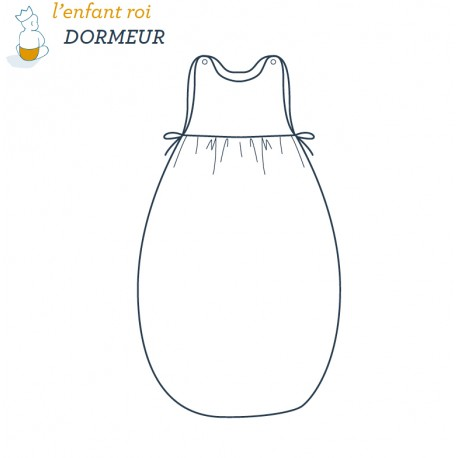 Dormeur Gig L'Enfant Roi sewing pattern - From 3 months to 2 years