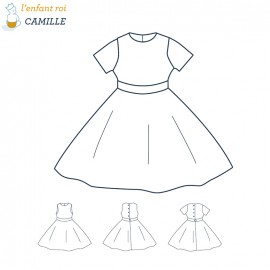 Camille Pattern L'Enfant Roi sewing pattern - From 2 to 8 years old