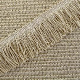 Charleston lurex fringe 55mm - sand x50cm