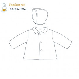 Amandine Jacket L'Enfant Roi sewing pattern - From 2 to 12 years old
