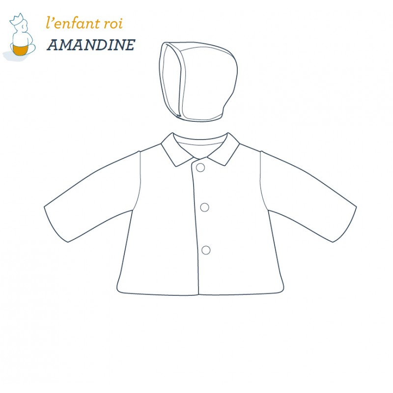 Amandine Jacket L\'Enfant Roi sewing pattern