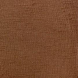 Tissu double gaze de coton Oeko-tex - Carafe Camillette création x 10cm