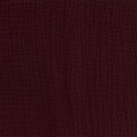 Oeko-tex double gauze fabric - Pruline Camillette création x 10cm