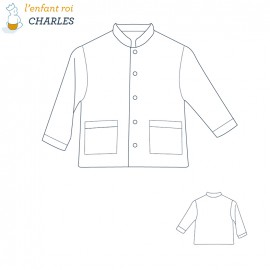 Charles Jacket L'Enfant Roi sewing pattern - From 2 to 8 years old
