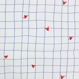 Tissu batiste - CoeuroKro Camillette création x 10cm