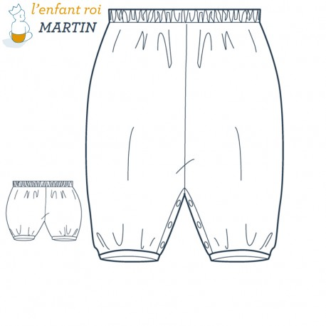 Martin Bloomer L'Enfant Roi sewing pattern - From 1 month to 2 years old